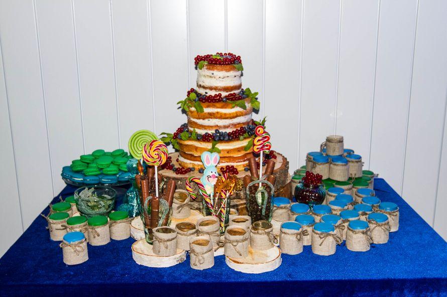сладкий стол - фото 3311569 DIAMANTE-deco студия свадебного дизайна