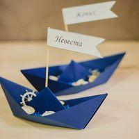 декор морской свадьбы