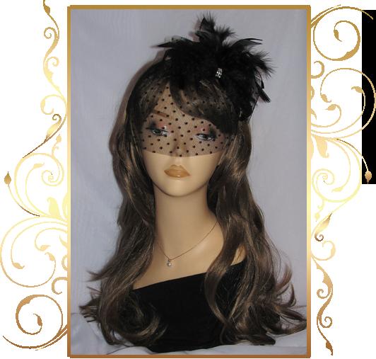 Фото 810175 в коллекции Свадебные шляпки, вуалетки - Кнауб Ольга - Свадебные аксессуары
