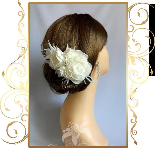Фото 810195 в коллекции Свадебные шляпки, вуалетки - Кнауб Ольга - Свадебные аксессуары
