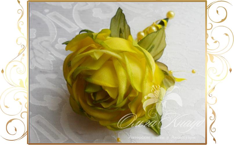Фото 810241 в коллекции Цветы из шелка - Кнауб Ольга - Свадебные аксессуары