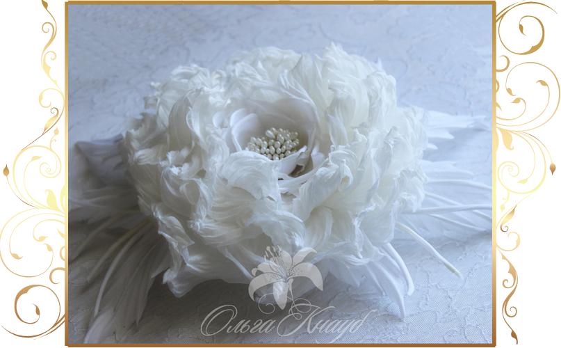 Фото 810249 в коллекции Цветы из шелка - Кнауб Ольга - Свадебные аксессуары