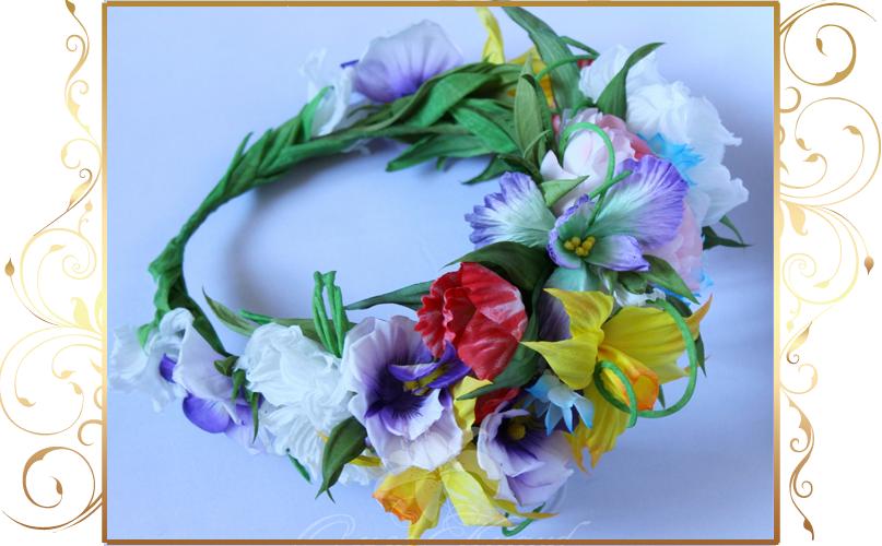 Фото 810253 в коллекции Цветы из шелка - Кнауб Ольга - Свадебные аксессуары