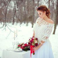 Зима. Свадебная фотосессия