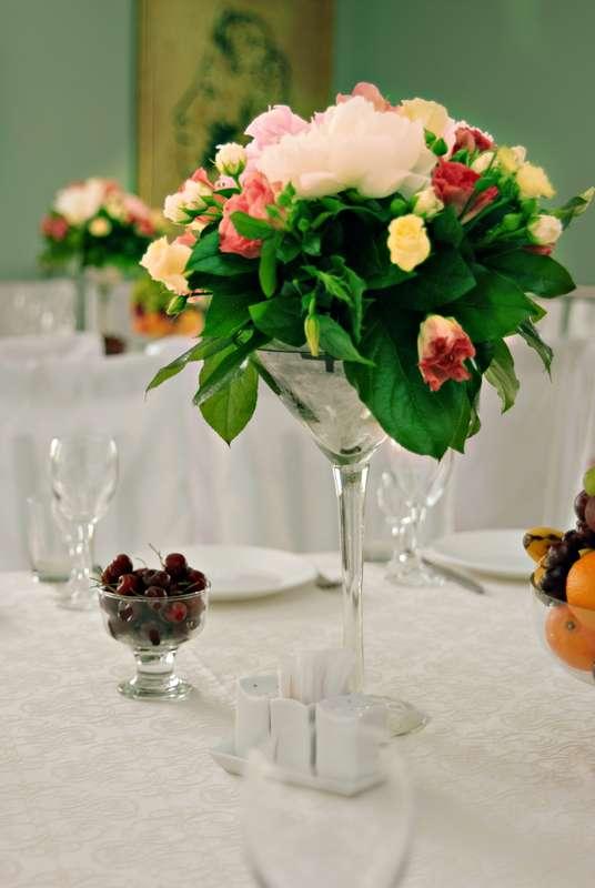 Мятно-розовый Shabby chic - фото 1746333 Кирилл Новосёлов - свадебный декор