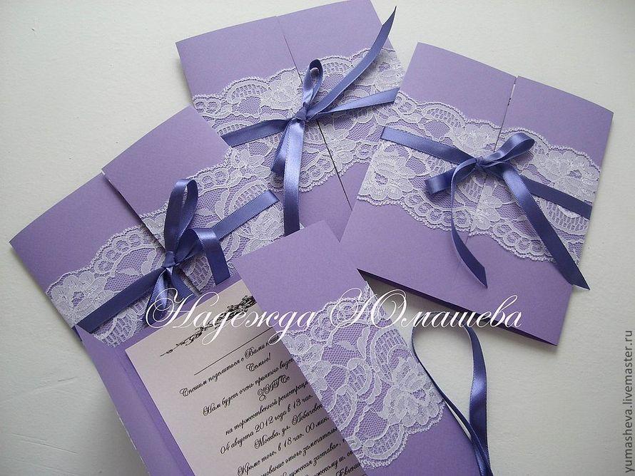 Красивые приглашение на свадьбу своими руками