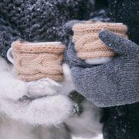 зимняя фотосессия, фотосессия зимой, ель, букет, снег, шерсть