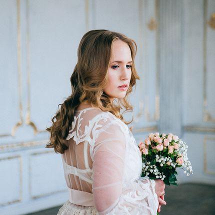 Фотосъёмка утра невесты в студии, 2 часа