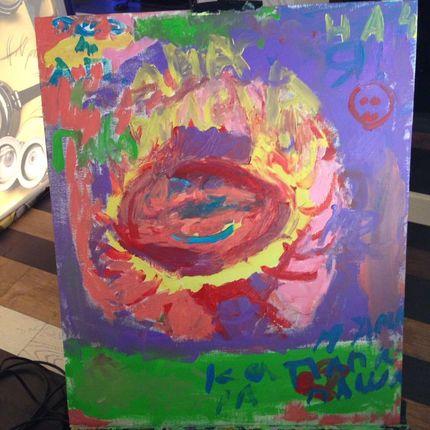Портрет красками от гостей