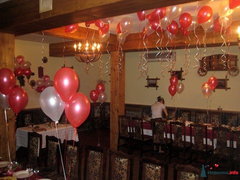 Фото 152227 в коллекции Украшение шарами свадеб - Праздничный Бум - оформление шарами