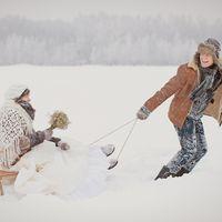 Зимняя сказка Оли и Димы