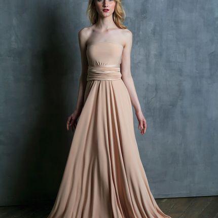 Платье-трансформер макси