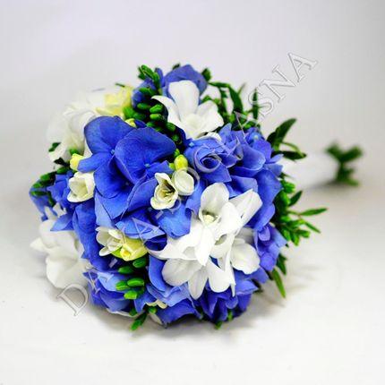 """Букет невесты """"Орхидея и гортензия"""""""