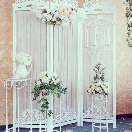 Аренда ширмы для свадебного оформления