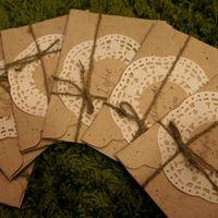 Приглашения в крафт-конвертах. Своими руками - Margarettos