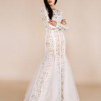 Свадебное платье в стиле бохо 2017