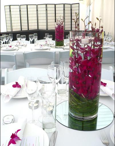 """Необычно и сдержанно: стекло, орхидеи и зеркало! - фото 1929519 Цветочная мастерская """"Ботаник"""""""