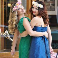 Ободки с цветами для подружек невесты. Любой цвет, любой размер на заказ.