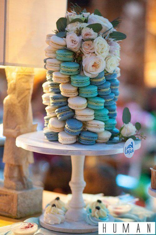башня из макаронс - фото 11346492 Sweet - кафе-кондитерская