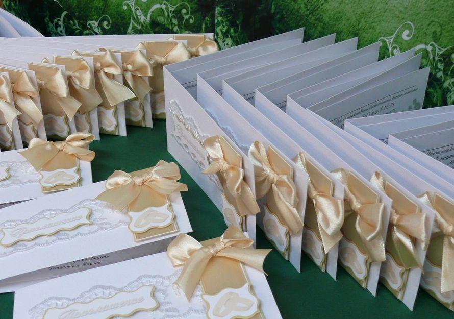 Приглашение на свадьбу в наличии и на заказ - фото 1978313 Мастерская открыток Бантик