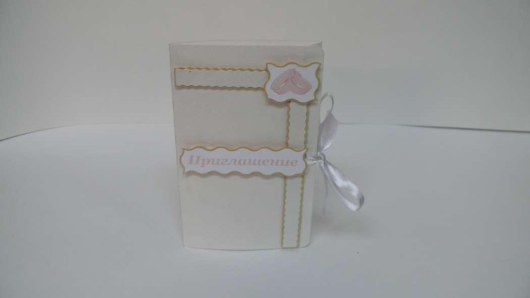 Приглашение на свадьбу в наличии и на заказ - фото 1978329 Мастерская открыток Бантик