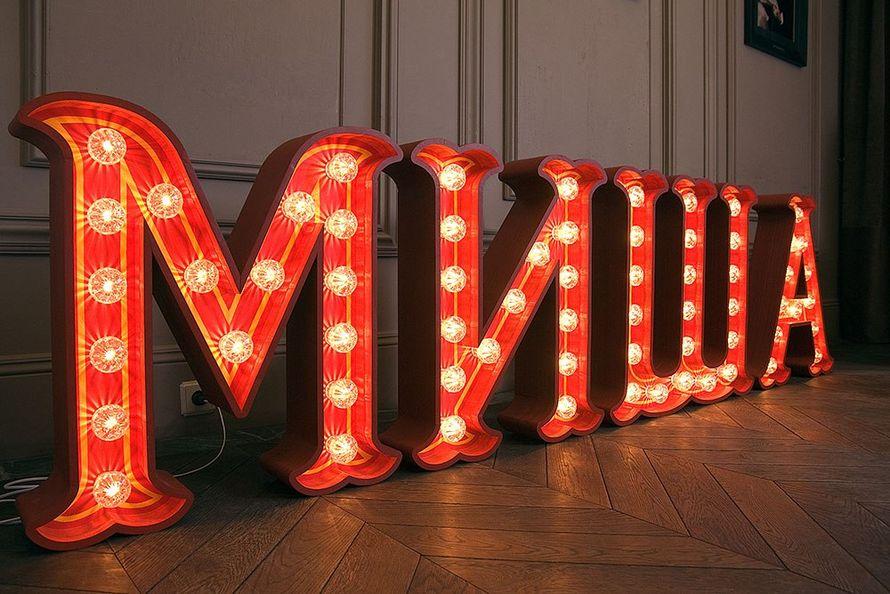 Фото 2503673 - 2K Lighting Workshop - светящиеся буквы в аренду