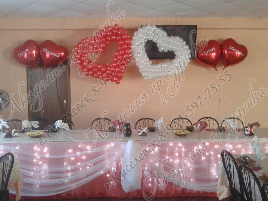 Фото 1995367 в коллекции Оформление свадебного зала - Академия Праздника - оформление свадеб