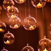 Еще идеи украшения свечами