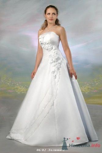 """Лолита (2), белое - фото 15056 Свадебный салон """"Хельга"""""""