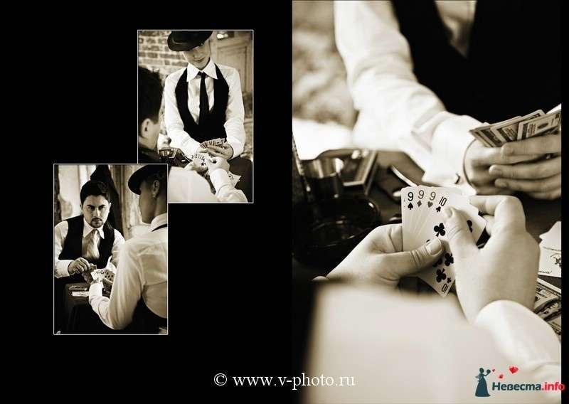 """Фото 94536 в коллекции Тематическая фотосъёмка-лавстори """"Гангстеры"""", развороты фотокниги - Свадебные фотографы StoryOfMoments"""