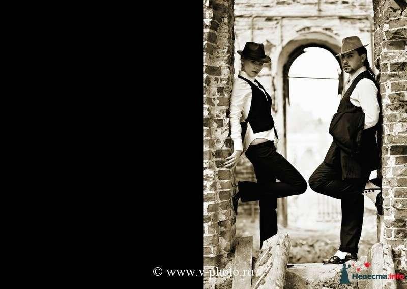 """Фото 94549 в коллекции Тематическая фотосъёмка-лавстори """"Гангстеры"""", развороты фотокниги - Свадебные фотографы StoryOfMoments"""