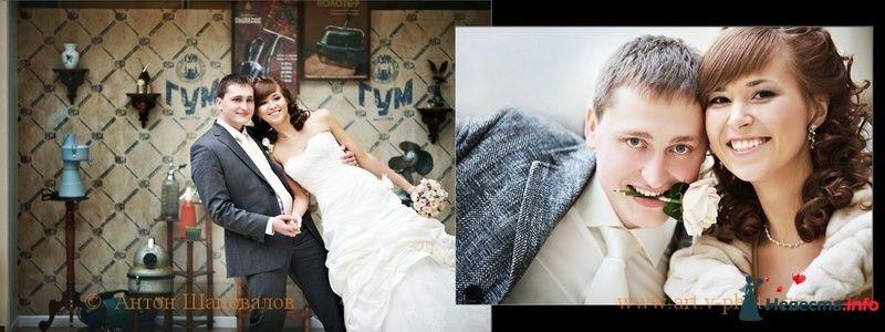 Фото 107697 в коллекции Свадебная фотокнига Владимира и Ирины. 12.02.2010 - Свадебные фотографы StoryOfMoments