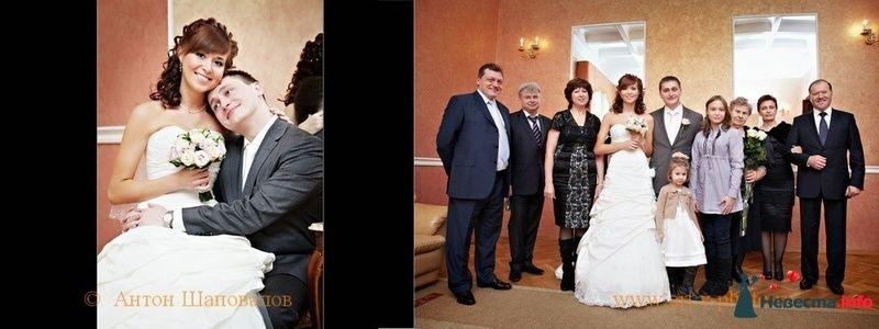 Фото 107702 в коллекции Свадебная фотокнига Владимира и Ирины. 12.02.2010 - Свадебные фотографы StoryOfMoments