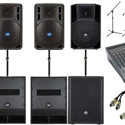 Аренда, прокат  звукового и светового оборудования