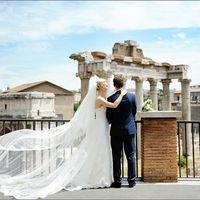 Свадьба в Италии Рим