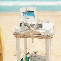 морская звезда, декор, свадьба, свадебный декор, стол, кольца, отсрова, доминикана
