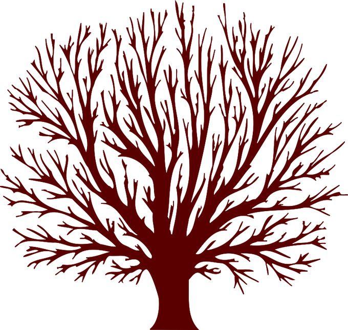 Картинка дерево для печати
