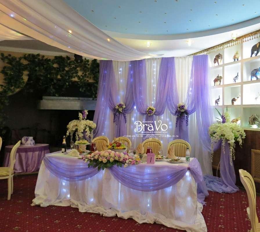 """Сегодня мы оформляли свадьбу для одной из наших первых и постоянных заказчиц- Юлии Дияновой! Мы постарались учесть все пожелания невесты! - фото 6291989 """"Bravo"""" - студия декора"""