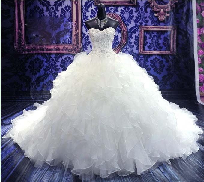 Свадебные платья в мире и цены