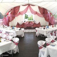 Оформление свадебного шатра в Пирогово