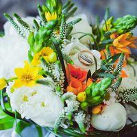 Свадебная фотосъемка. Букет Невесты