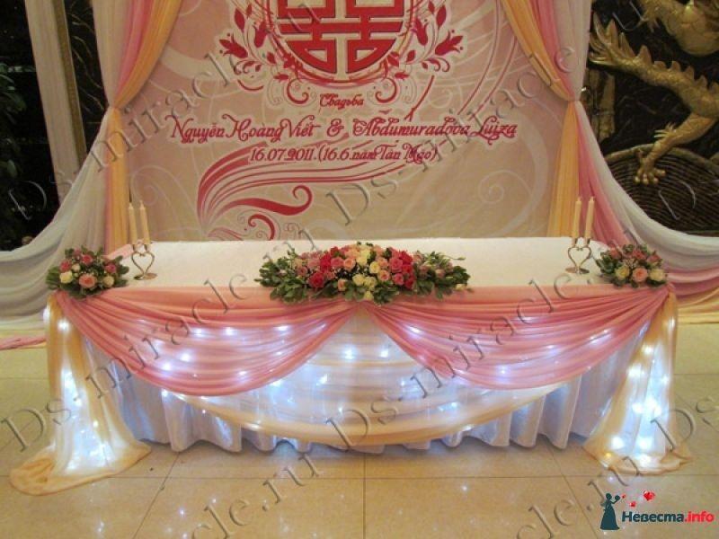 Место жениха и невесты