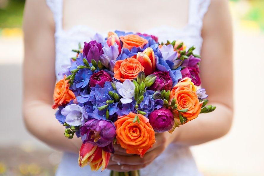 Букет из синих тюльпанов минске, необычные букеты киев