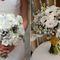 Зимний букет невесты из белых цветов