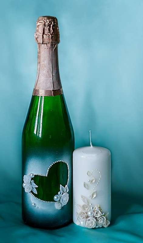 Фото 2157858 в коллекции Декор бутылок шампанского - Свадебное агентство One Love