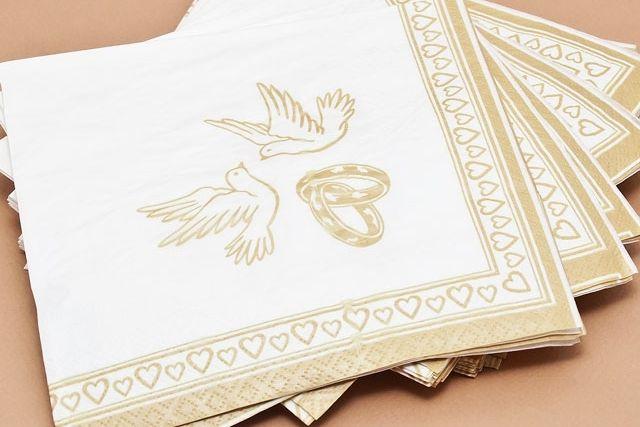 """Фото 2084468 в коллекции Мои фотографии - Свадебные салфетки """"Оригами"""""""