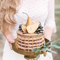 Свадебный торт с грушами