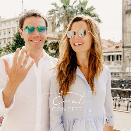 Организация официальной свадьбы в Италии