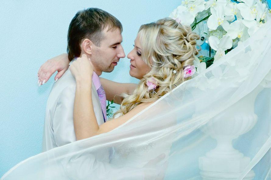 Прическа сестры на свадьбе