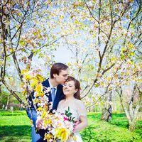 свадьба в японском саду